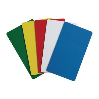 Etiquetas identificativas Cambro en 5 colores diferentes ct442