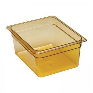 Cubeta para alimentos calientes Cambro de policarbonato GN-1/2 150mm dw483