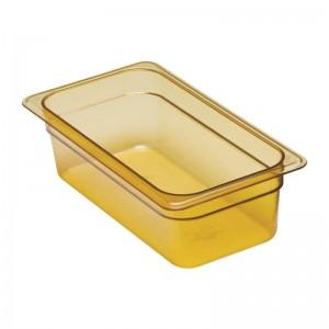 Cubeta para alimentos calientes Cambro de policarbonato GN-1/3 100mm dw485