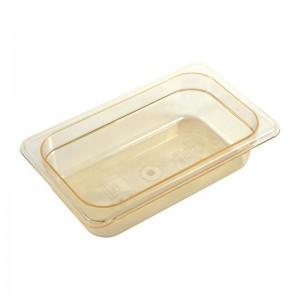 Cubeta para alimentos calientes Cambro de policarbonato GN-1/4 65mm dw489