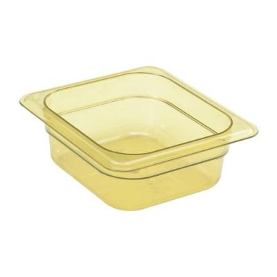 Cubeta para alimentos calientes Cambro de policarbonato GN-1/6 65mm dw492
