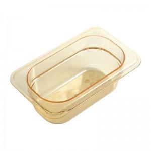 Cubeta para alimentos calientes Cambro de policarbonato GN-1/9 65mm dw498
