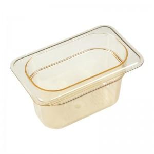 Cubeta para alimentos calientes Cambro de policarbonato GN-1/9 100mm dw499