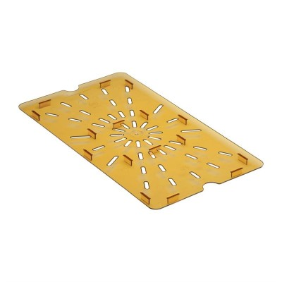 Bandeja de drenaje de policarbonato para alimentos calientes Cambro GN-1/1 dw511