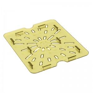 Bandeja de drenaje de policarbonato para alimentos calientes Cambro GN- 1/2 dw512
