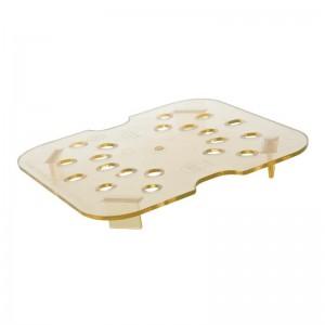 Bandeja de drenaje de policarbonato para alimentos calientes Cambro-1/6 dw515