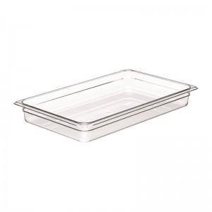 Cubeta sin BPA Gn1/1-6.5cm de profundidad dw530