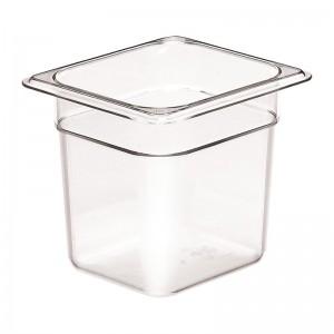Cubeta sin BPA Gn1/6-15cm de profundidad dw547