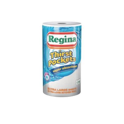 Rollos de cocina absorbentes de 100 capas Regina (Caja 6). 6 ud. ct325