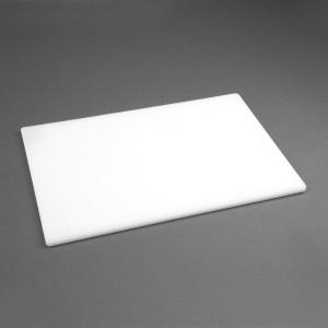 Tabla de cortar Hygiplas de baja densidad antibacteriana blanca-450x300x12mm hc860