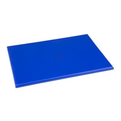 Tabla de cortar Hygiplas pequeña de alta densidad antibacteriana azul-229x305x12mm hc863