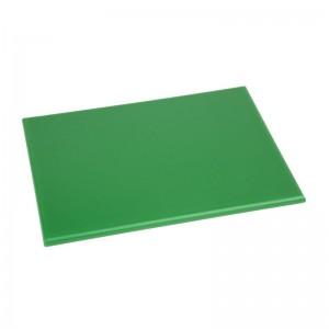 Tabla de cortar Hygiplas pequeña de alta densidad verde- 229x305x12mm hc865