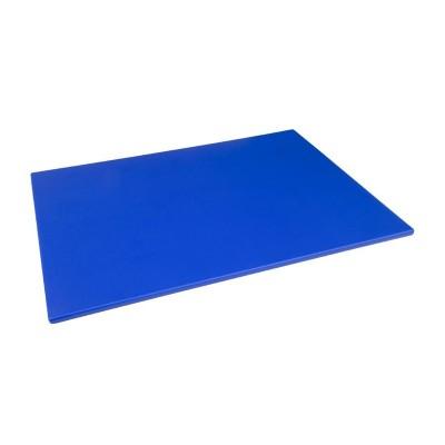 Tabla de cortar Hygiplas de baja densidad azul-600x450x10mm hc871