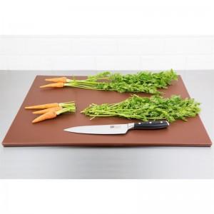 Tabla de cortar Hygiplas de baja densidad marron- 600x450x10mm hc873