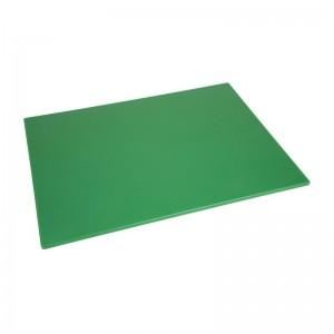 Tabla de cortar Hygiplas de baja densidad verde-600x450x10mm hc875