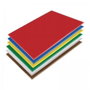 Kit de tablas de cortar Hygiplas de baja densidad-600x450x10mm (Kit de 6) hc879