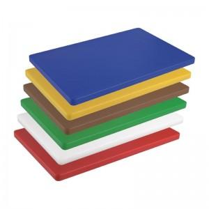 Tabla de cortar Hygiplas de baja densidad amarilla-600x450x20mm hc884