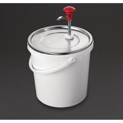Dispensador de salsa por bomba Schneider-10Ltr da363