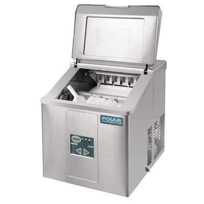 Maquina de hielo sobre mostrador produccion 15kg al dia Polar g620