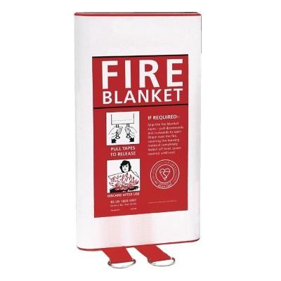 Manta anti-incendios - 1 x 1m l973