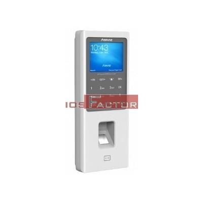 Terminal biométrico W2 ANVIZ. Control de presencia por Huella, Tarjeta de proximidad y PIN, Conexión TCP/IP