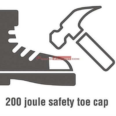 Zapatilla de seguridad Slipbuster de piel nobuk – Talla 41 bb420-41