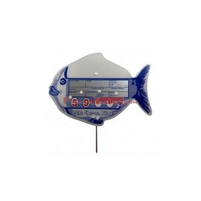Portaprecios pescadería ruleta
