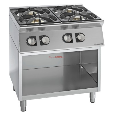 Cocina gas 4 fuegos Unika 700 G