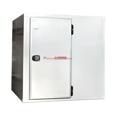 Cámara frigorífica. Panel 80 mm. Altura 2000 mm