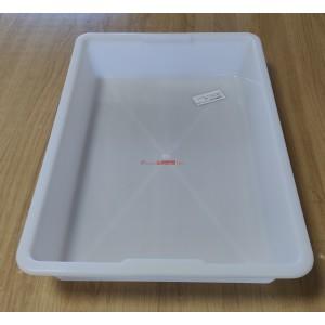 Cubetas - bandejas blancas plástico alimentación