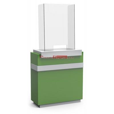 Mampara de protección de sobremesa 670x950x292 mm