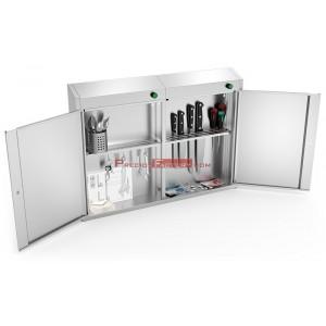 Esterilizador armario ozono doble puerta