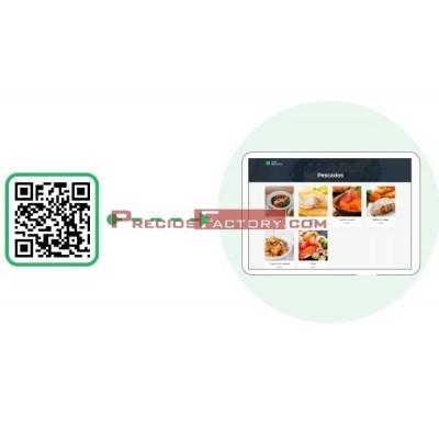 Módulo carta digital restaurante para GLOP PROFESIONAL. Pago en caja, idiomas y alérgenos.