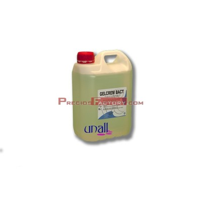 Desinfectante para manos. 4 GARRAFAS DE 5 LITROS