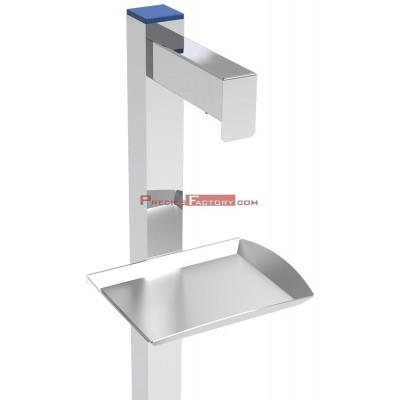 Dispensador de gel hidroalcohólico de gran capacidad a pedal