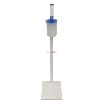 Columna dispensador de gel hidroalcohólico accionamiento manual