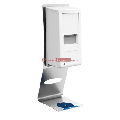 Dosificador automático de gel hidroalcohólico con soporte de sobremesa