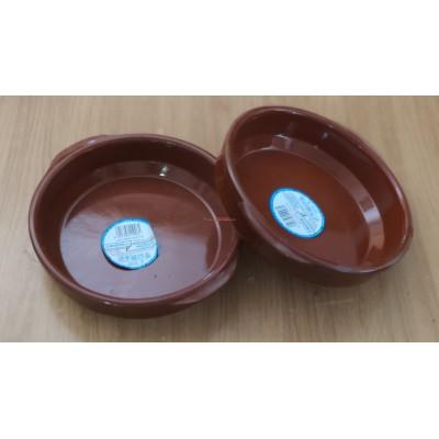 Cazuela barro 20 cm. Oferta limitada por liquidación stock