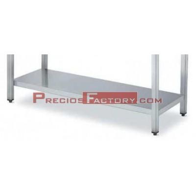 "Estante mesas XZ19 fondo 600 mm. Para conversión mesas sin entrepaño de la serie XZ19 en ""Mesa CON ENTREPAÑO"""