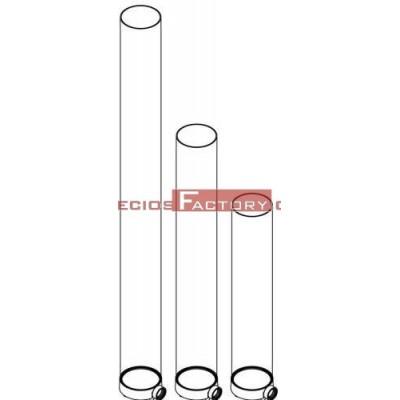 Tubo policarbonato para metros de cerveza. Incluye pieza conexión grifo.