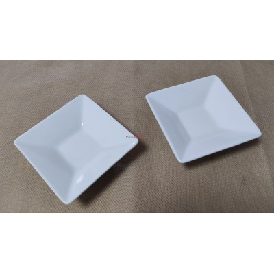 Mini fuente cuadrada porcelana 80x80x25 mm