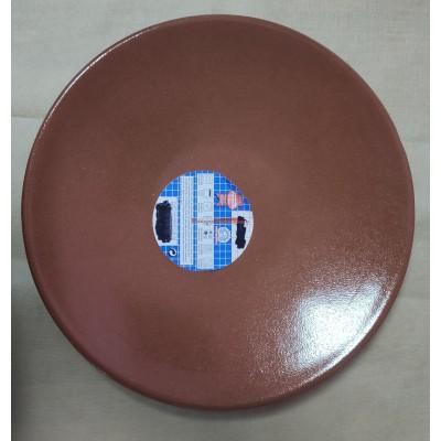 Plato churrasco barro 28 cm Ø