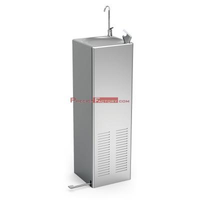 Fuente refrigerada de agua fría Cold+ con grifo a pedal