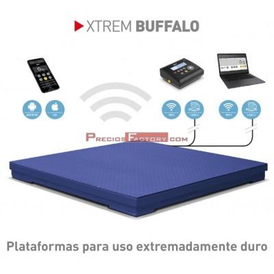 Plataforma pesaje XTREM BUFFALO para uso extremadamente duro