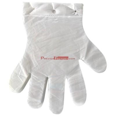 Caja de 10.000 guantes desechables con agujero para colgar (100 bolsas de 100 unidades)