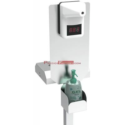 Termómetro infrarrojo con adaptador para columna