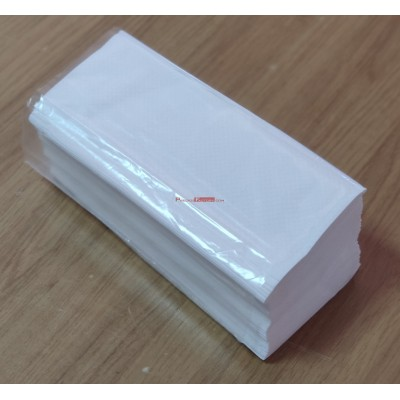 Toallas para las manos plegadas en Z. 20 paquetes de 150 ud