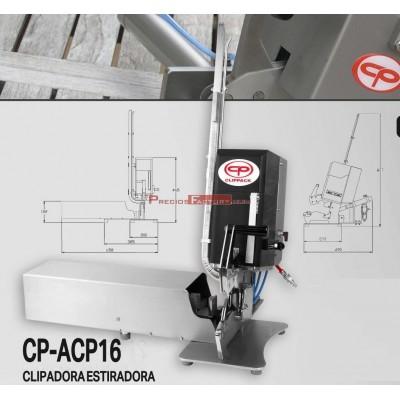 Grapadora clipadora estiradora de lomos Clippack