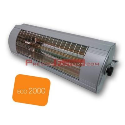 Calefactor estufa de infrarrojos Solamagic ECO 2000 watios