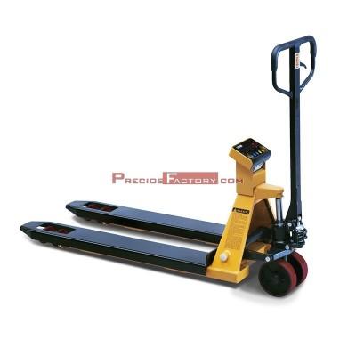 Transpaleta pesadora TCAMEL S. 2000 kg